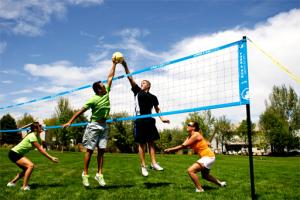 парк, волейбол_