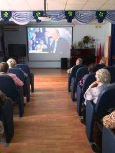 01 Просмотр телепрограммы Встреча с президентом
