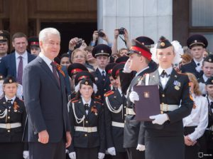Москва, ВАО, образование, война, парад
