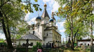 церковь успения персвятой богородицы