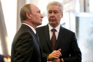 Путин, Собянин
