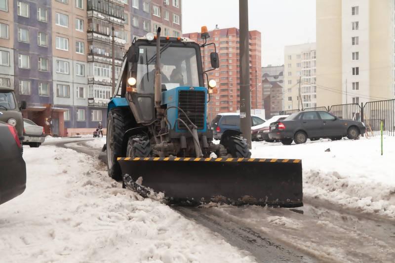 новость, снегоуборочная машина