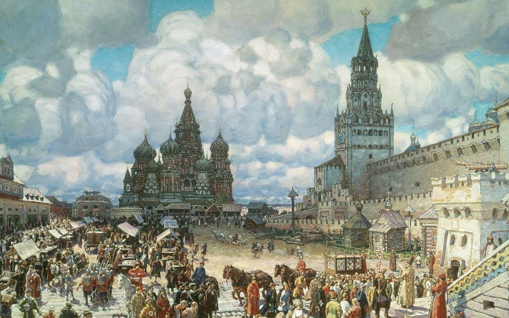 история московского края