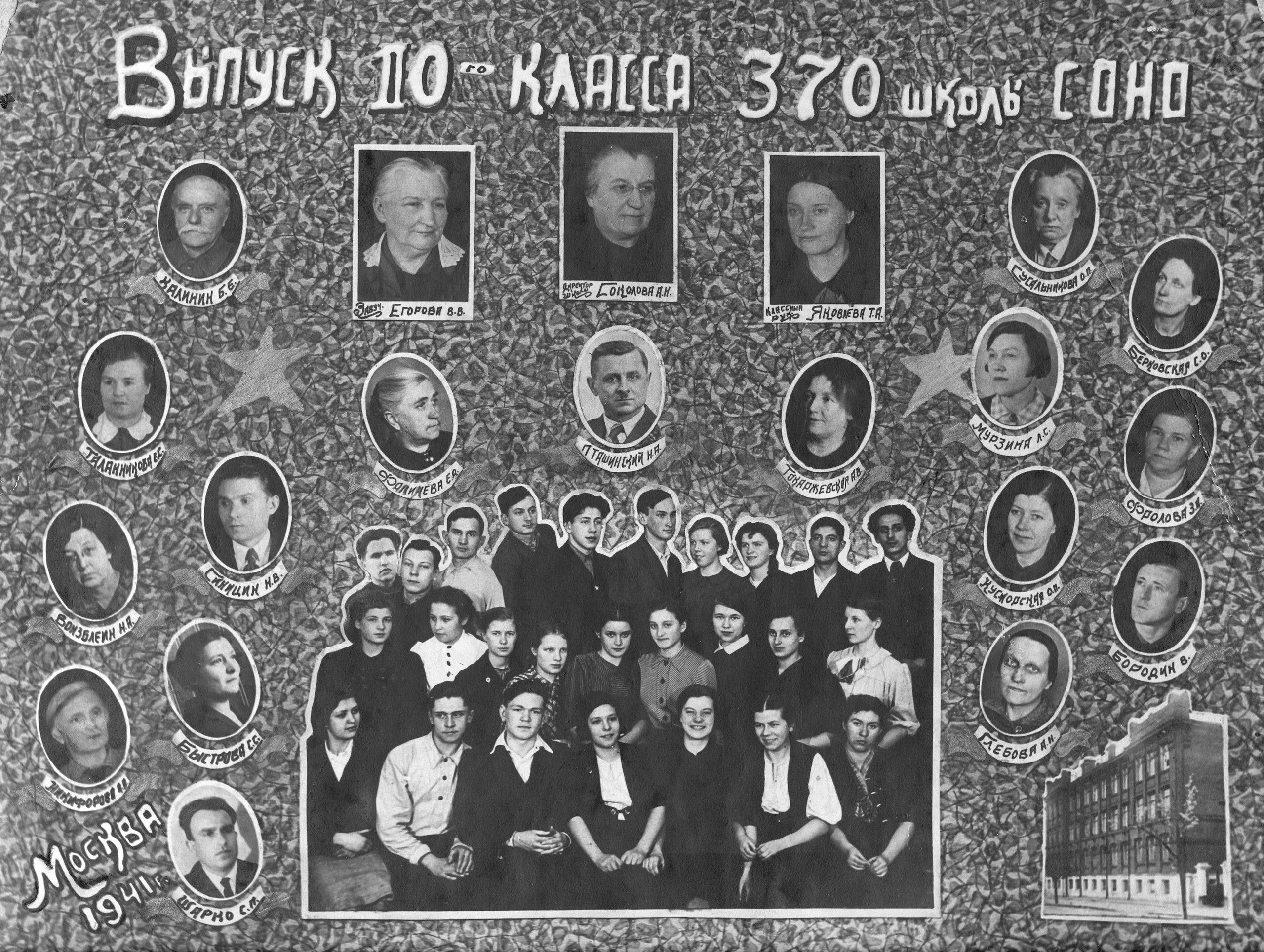 выпускники сорок первого