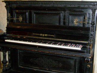 старинные рояли и пианино