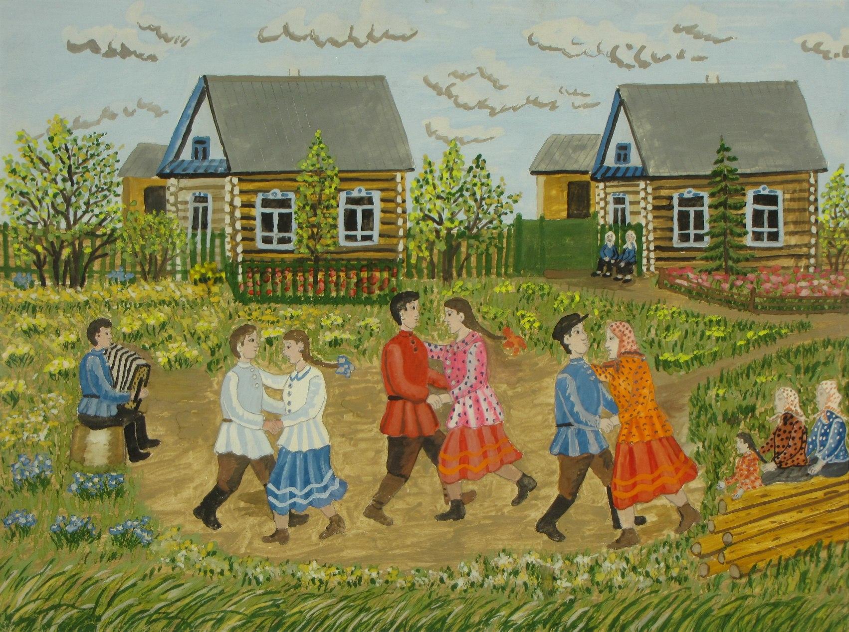выставка наивной живописи