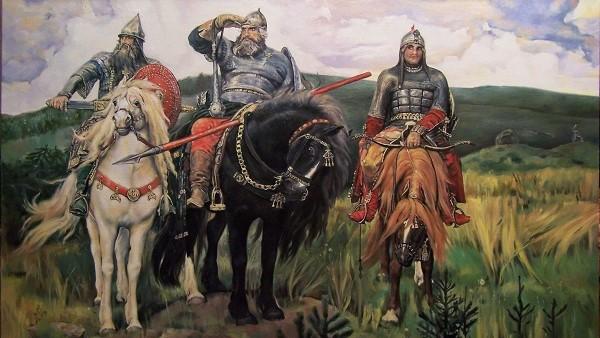 богатыри виктора васнецова