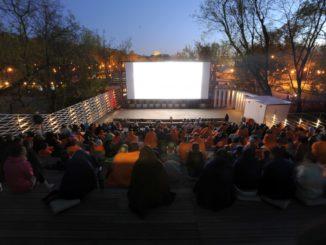 Передвижные летние кинотеатры