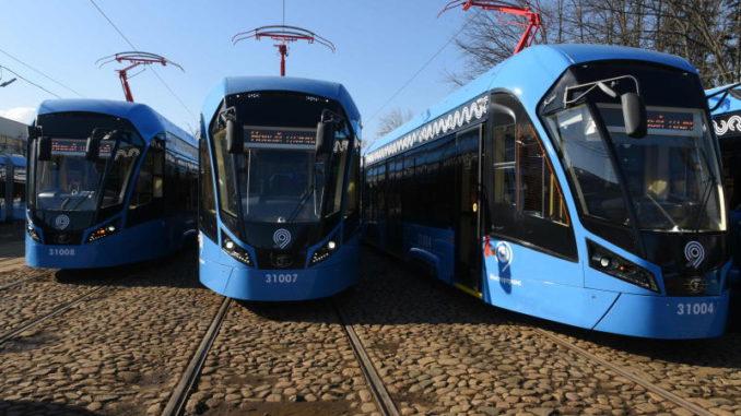 современные трамваи