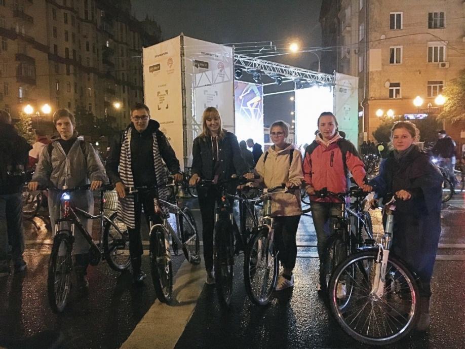 велосипедисты из вао