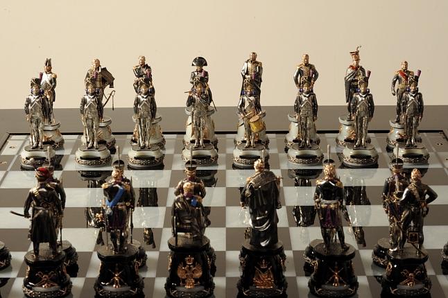 Уникальные комплекты шахмат