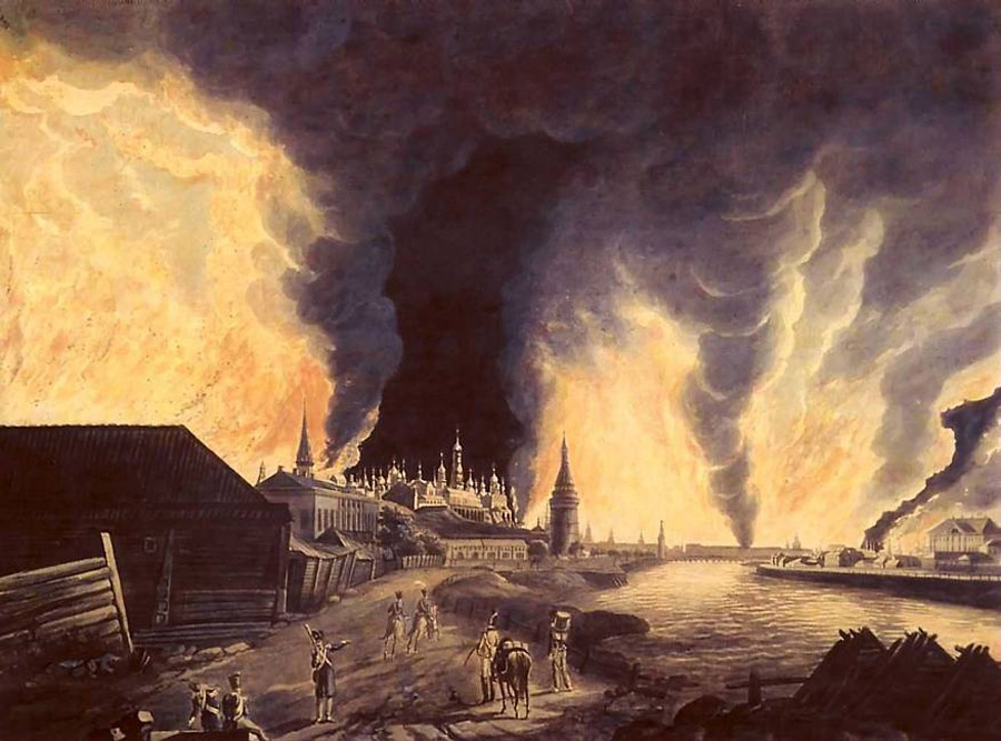Большой Московский пожар 1812 года