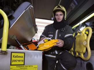 Пожарный из Сокольников