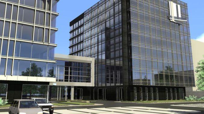 Новый бизнес-центр
