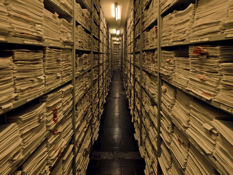Ночь в архиве