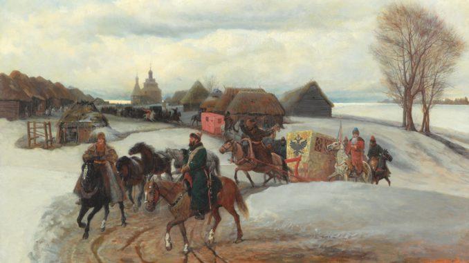Сюжеты русской истории
