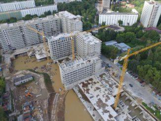 Строительство ЖК Терлецкий парк