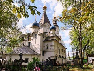 Храм Успения Богородицы в Вешняках