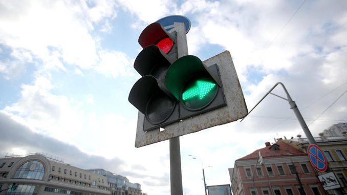 Работа светофоров