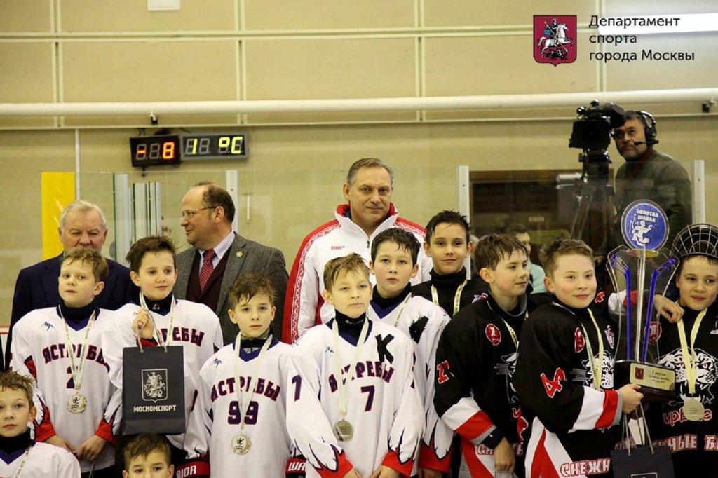 новокосинские хоккеисты