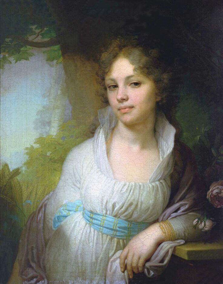 портрет лопухиной
