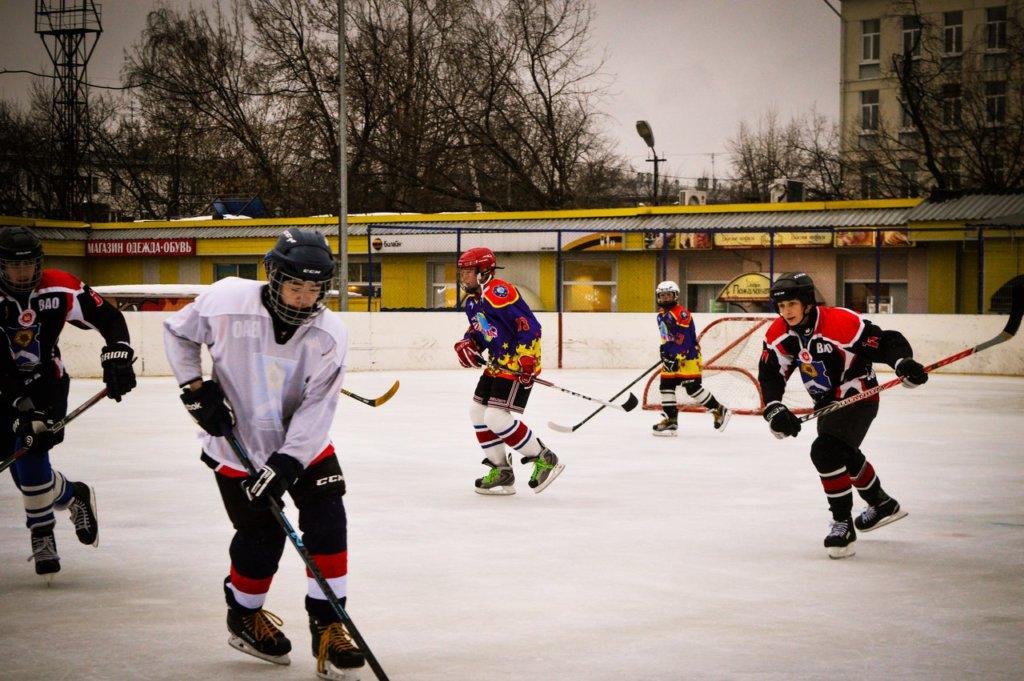 хоккеисты из богородского