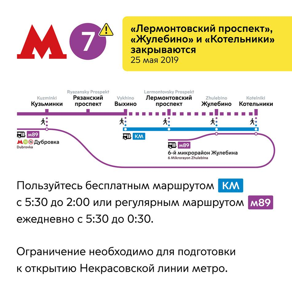 три станции