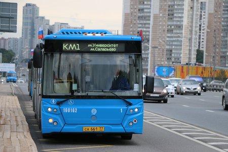 почти двести автобусов