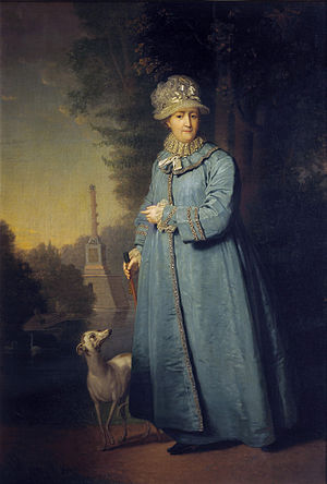 портрет императрицы