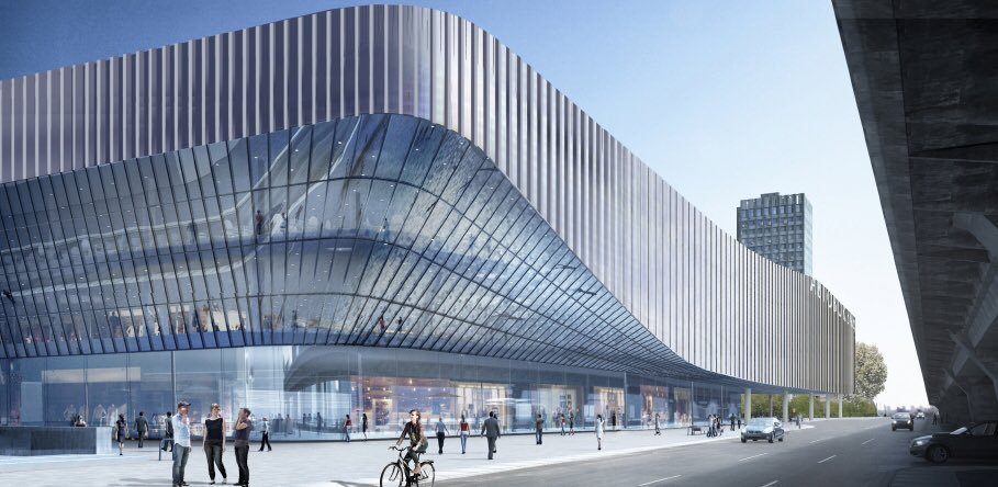 обновлённый автовокзал