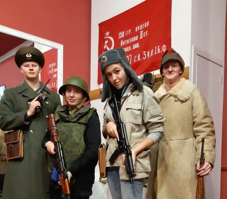интерактивный музей оружия