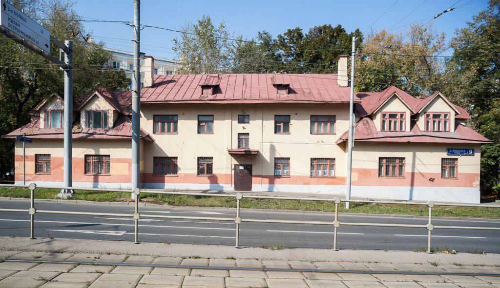 Нежилое двухэтажное здание