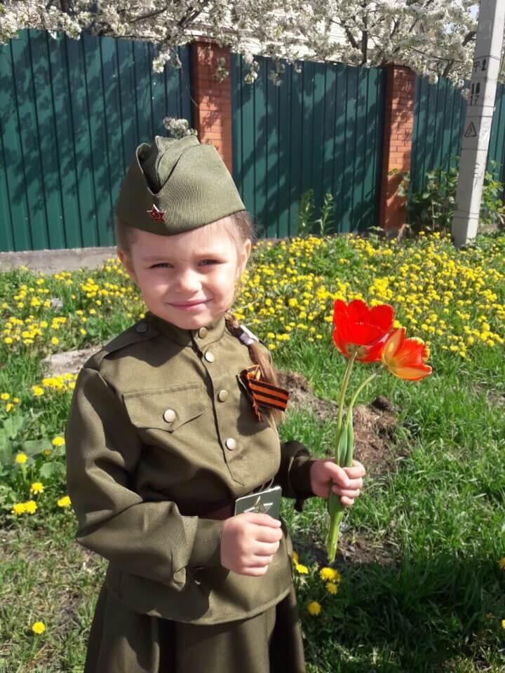 Пятилетняя Анастасия Колышкина