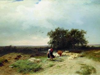 возвращение стада