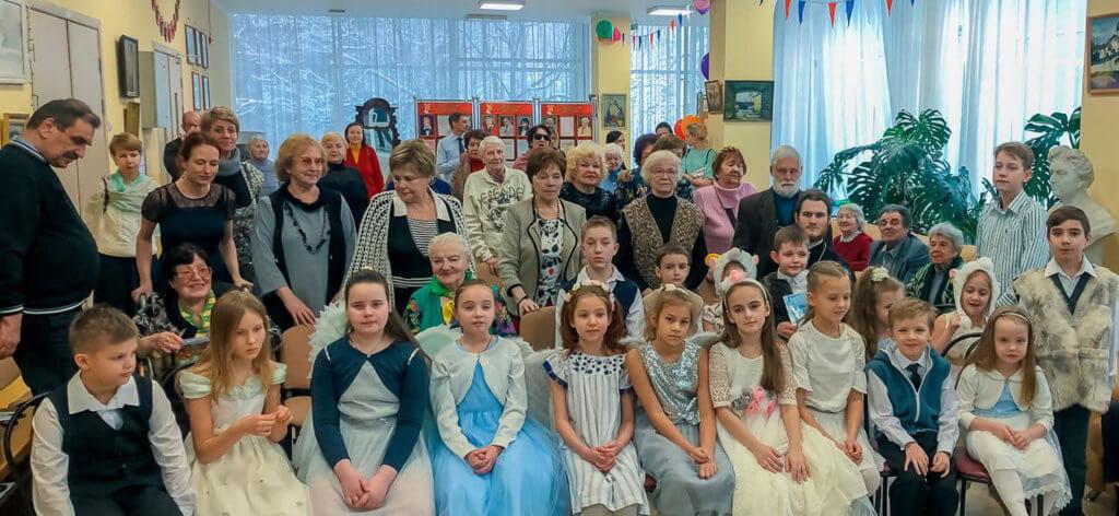Воспитанники детской Воскресной школы