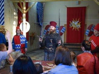 в эпоху рыцарства