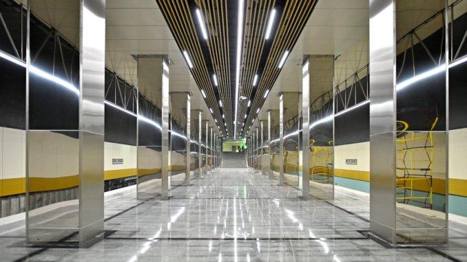 проектом участка Некрасовской линии