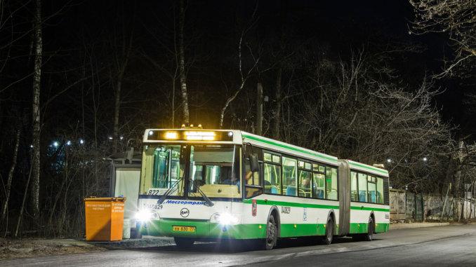 маршрут автобуса № 822