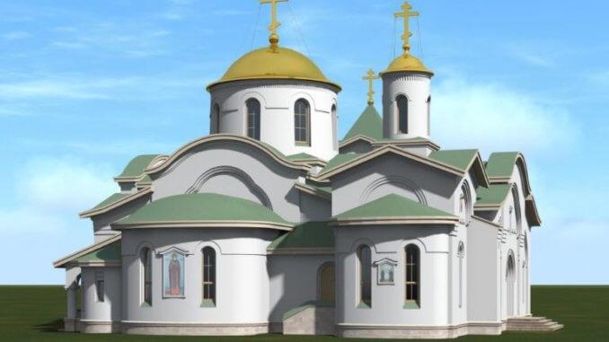 строительство храмового комплекса