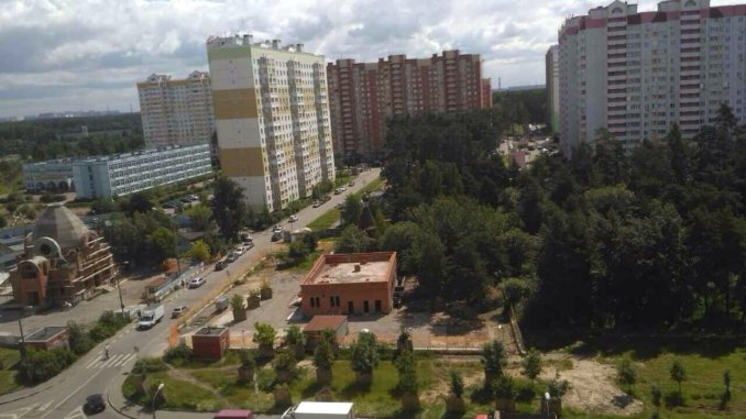 на улице салтыковской