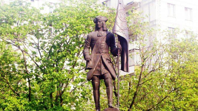 первый российский солдат
