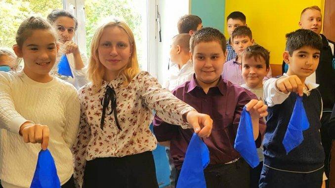 акция синий платочек