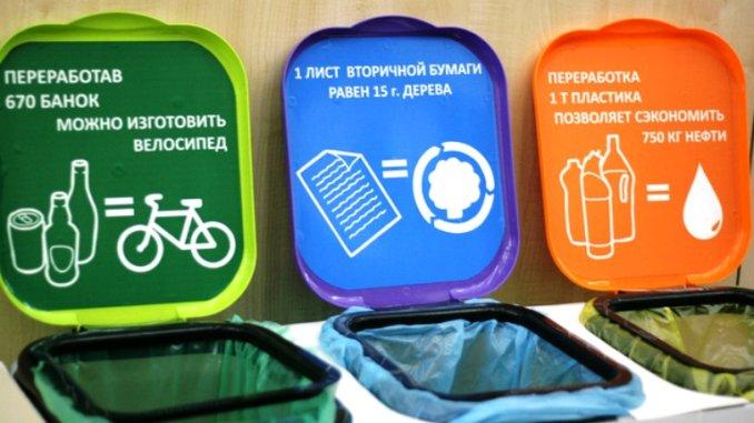 акции по раздельному сбору отходов