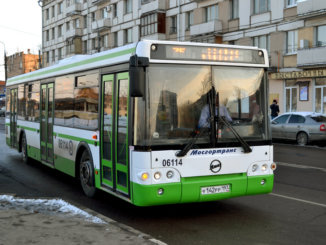 маршрут автобусов № 75 и 822