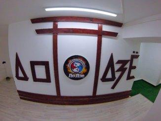 в школе боевых искусств