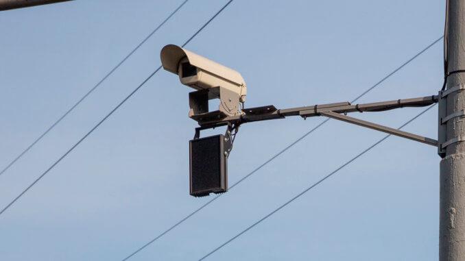 две дорожные камеры