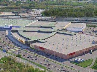 крупный торгово-развлекательный центр