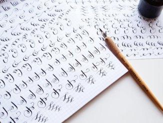 искусству каллиграфии