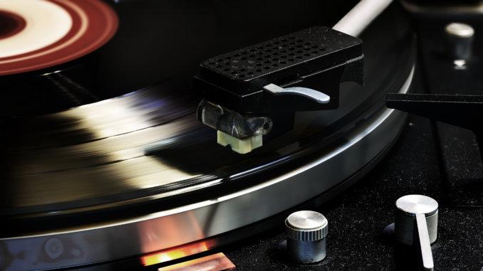 мелодия с виниловой пластинки