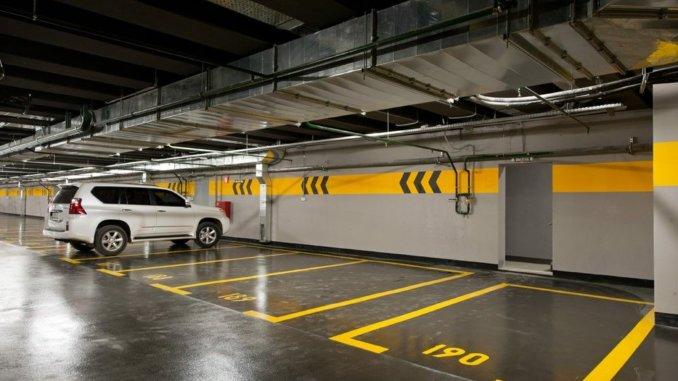 парковочных мест